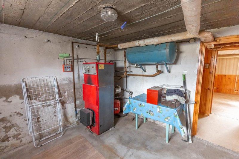 talange maison  sous-sol chaufferie