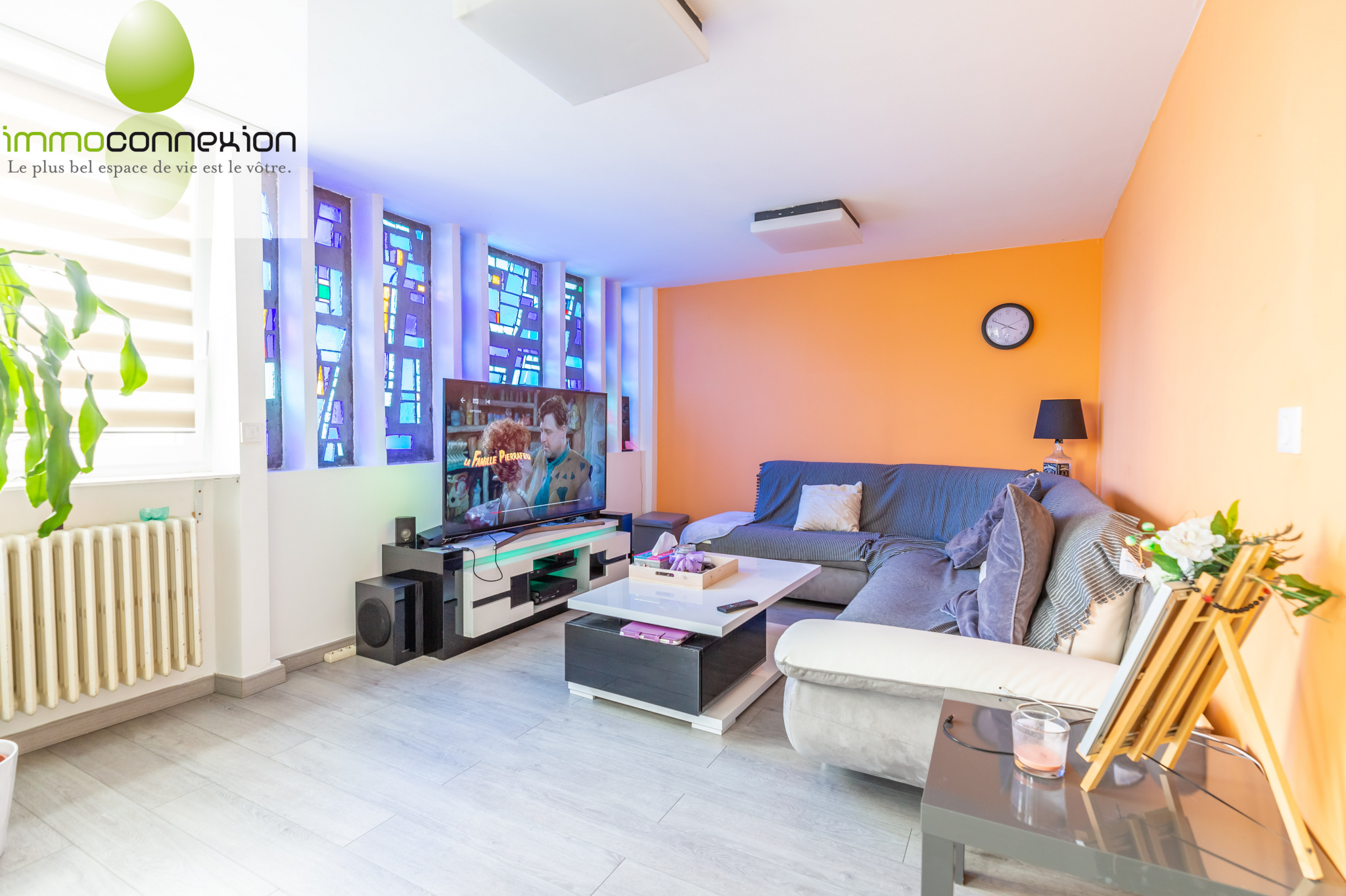 salon  appartement f5 guenange